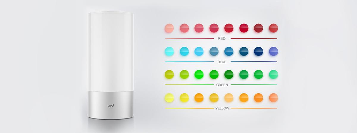 چراغ خواب هوشمند شیائومی مدل Yeelight LED Bluetooth | شیائومی کالا