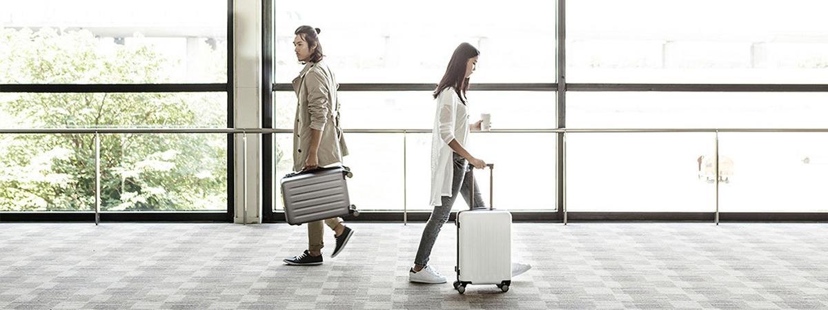 چمدان مگنتی شیائومی مدل 90Points سایز 20 اینچ | شیائومی کالا