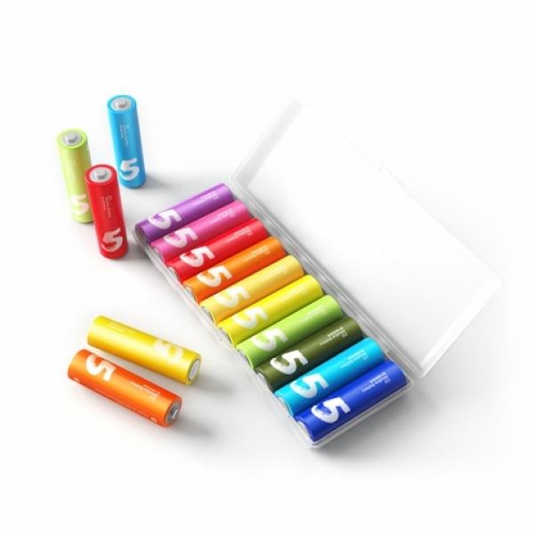 باتری قلمی آلکالاین شیائومی مدل ZI5 بسته 10 عددی | شیائومی کالا