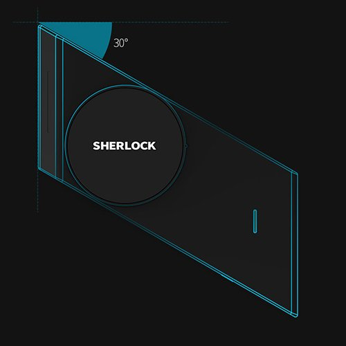 قفل در هوشمند Sherlock M1 شیائومی | شیائومی کالا