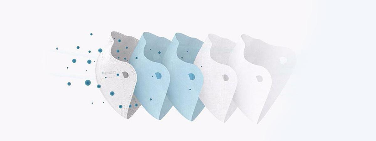 فیلتر ماسک شیائومی مدل Air Wear | شیائومی کالا