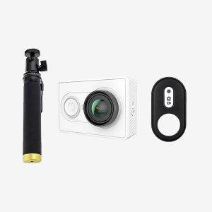 دوربین ورزشی Yi و پایه نگهدارنده و ریموت شیائومی 1