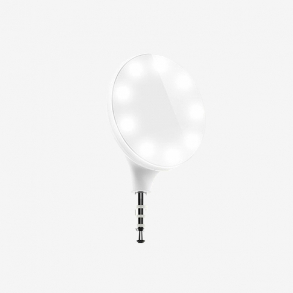 فلش سلفی LED- شیائومی | Xiaomi 9 LEDs Selfie Flash Light 3.5mm Jack Plug |