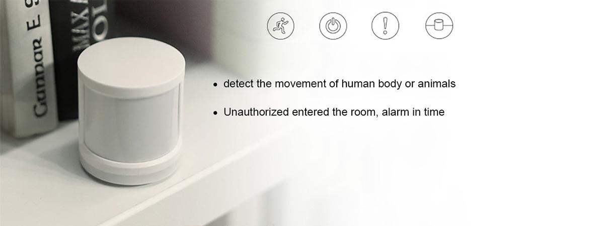 سنسور هوشمند تشخیص حرکت شیائومی   شیائومی کالا