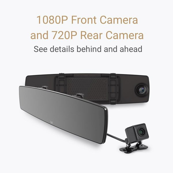 آیینه و دوربین ماشین شیائومی Yi   شیائومی کالا