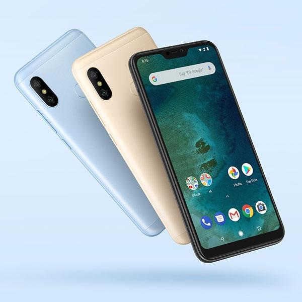 گوشی موبایل شیائومی مدل Mi A2 Lite ظرفیت 64 گیگابایت