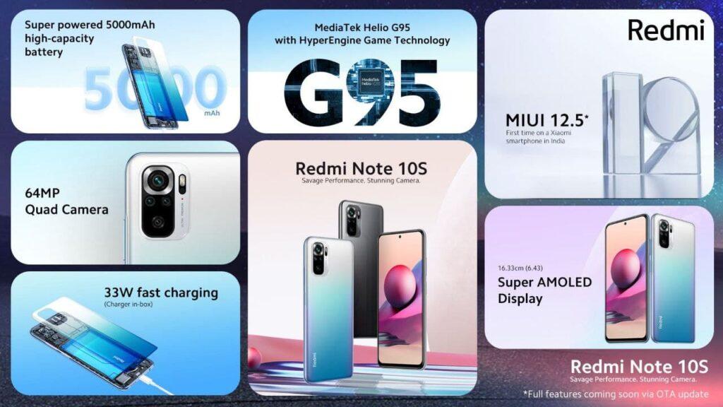 گوشی شیائومی ردمی نوت 10 اِس 6/128 | Xiaomi Redmi Note 10S 6/128