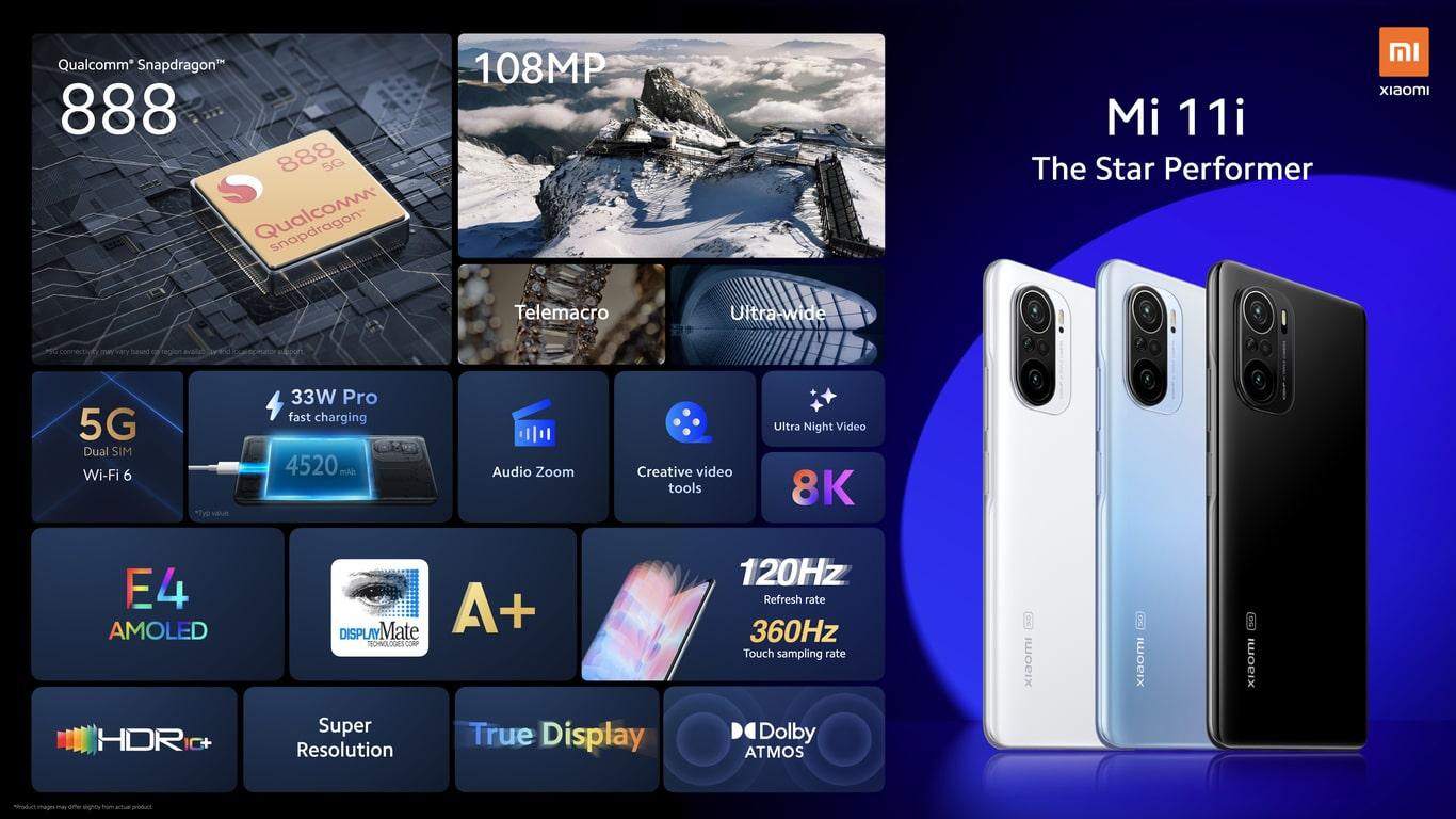 گوشی شیائومی می 11 آی 8 256 Xiaomi Mi 11i